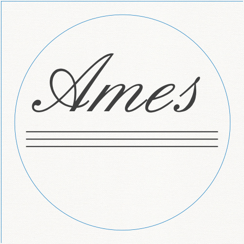 The Simple Elegant logo square is the finishing touch to an already beautiful invitation suite.