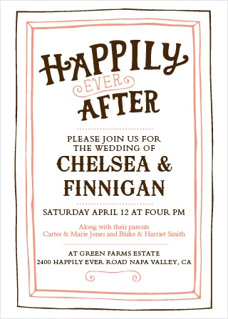 This enchanted rustic invite is full of personality. It is fully customizable so have some fun picking out colors that match your wedding theme and fonts that you love! Your guests will truly love this announcement!