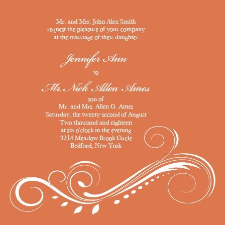 Streamlined Scroll Wedding Invitations