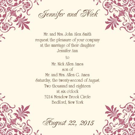 The Ornate Corners Wedding Invitation