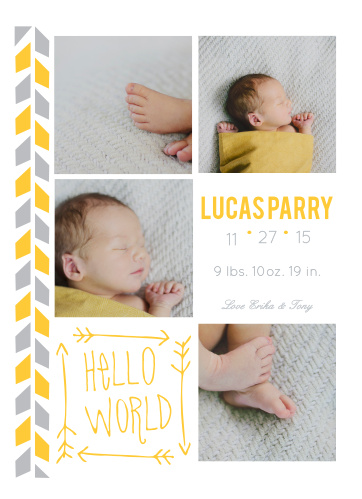 baby warrior birth announcements - Baby Announcement Cards