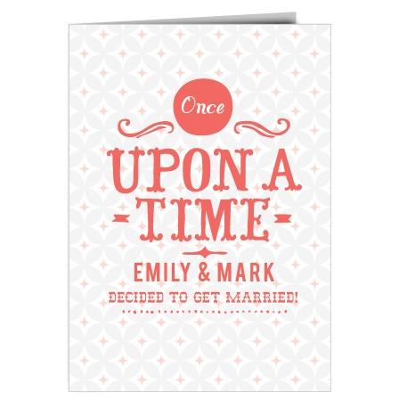 The Fairy Tale Beginning Wedding Invitation