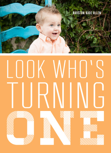 The look who's turning one first birthday invitations are a fun way to announce a big milestone in your little ones life.