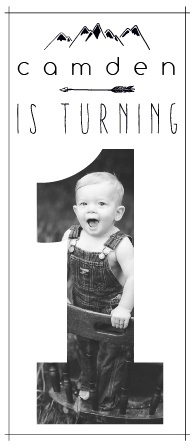The Tiny Explorer first birthday invitations are great way to kick off your little one's special occasion.