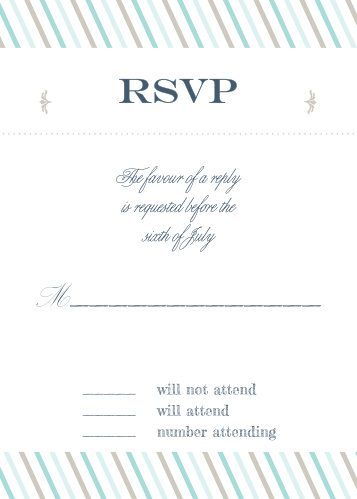The boarding pass RSVP cards makes for a great set with The Boarding Pass invites, accomadation cards, and save the dates. One size fits all!