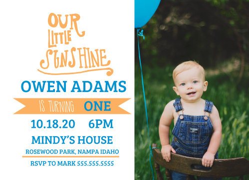 First birthday invitations 40 off super cute designs basic invite our little sunshine first birthday invitations filmwisefo