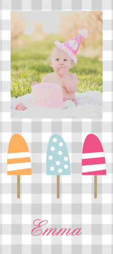 The Summer Popsicles first birthday invitations are great way to kick off your little one's special occasion, especially for a summer birthday!