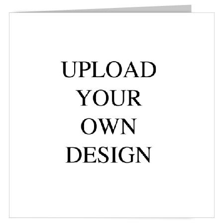 Upload Your Own Design Square Fold Landscape Wedding Invitation