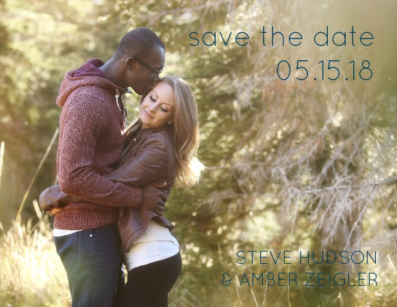 The Mystic Mountains Save-the-Date Cards