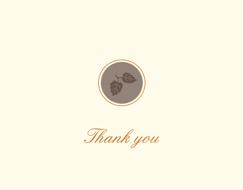 The Fall Graduation thank you cards allow you to celebrate your big day with the time of season as well.