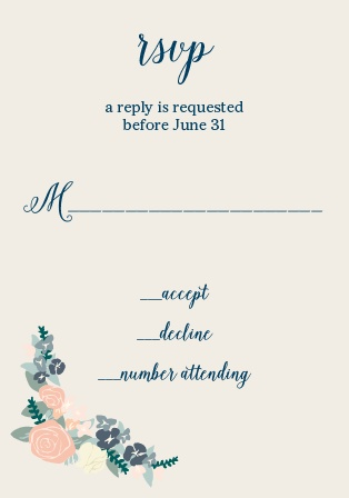 rsvp cards wedding
