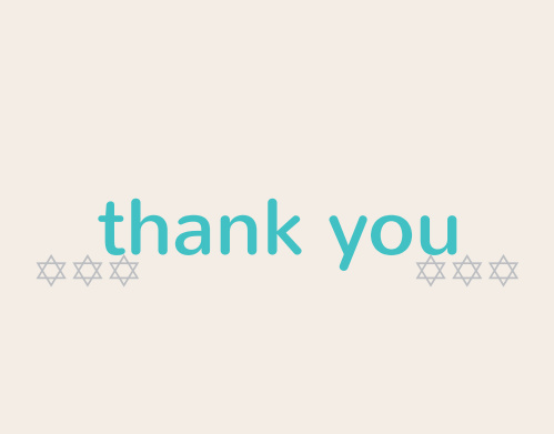 Simple and sophisticated, the Simply Modern Bat Mitzvah Thank You Card is the perfect way to express your gratitude to friends and loved ones. Completely customizable, too!