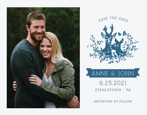 Ensure that your friends and family know when your wedding will be using the My Dear Save-the-Date Cards.