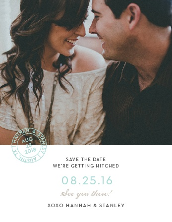 Note Home Save-the-Date Magnets