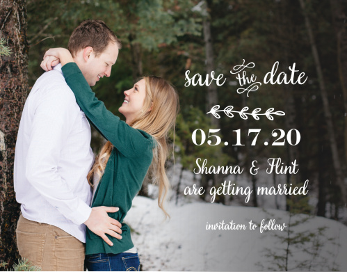 The Rustic Country save-the-date magnets is part of the Love vs Design collection by Basic Invite.