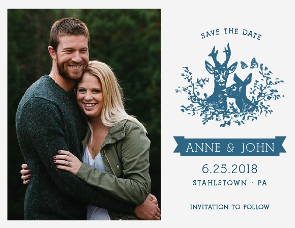 Ensure that your friends and family know when your wedding will be using the My Dear Save-the-Date Magnets.
