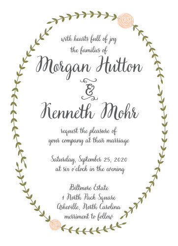 Your guests will adore the Rustic Nature Wedding Invitations once they receive them