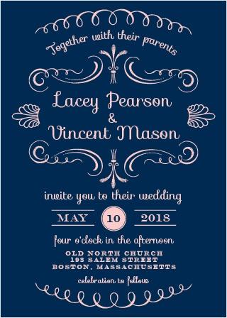 Sweet Elegance Wedding Invitations