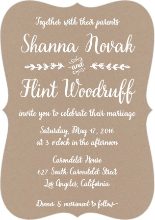 The Rustic Country Wedding Invitations is part of the Love vs Design collection by Basic Invite.
