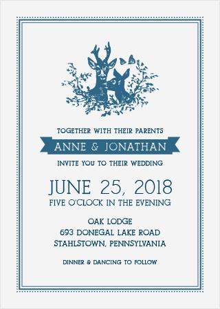 My Dear Wedding Invitations