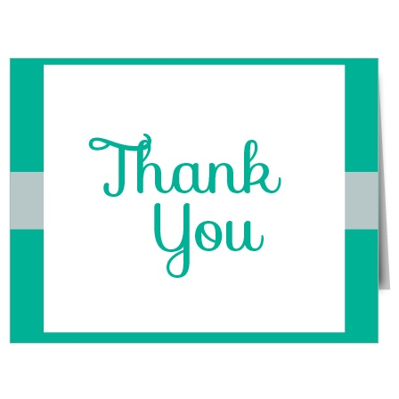 The Wrapped Damask graduation thank you cards are a wonderful way to say thank you to your loved ones for supporting you on your graduation day