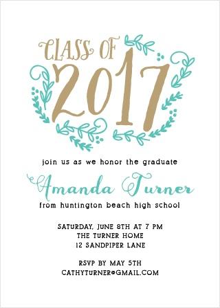 Vines Graduation Announcement