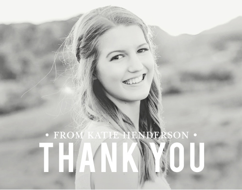 A simple and beautiful way to express your thanks, choose your favorite photo and customize the text to fit your style.