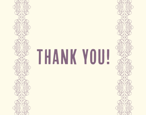 The Up and Up Graduation Thank You Card makes for a charming, yet chic way to express your gratitude to your friends and family for all their support on your journey. Customize the color of your pattern, your card and your font to show your charming personality.