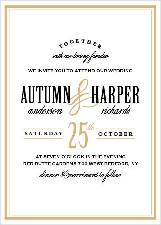 Wedding invitations match your color style free antique elegance wedding invitation stopboris Images