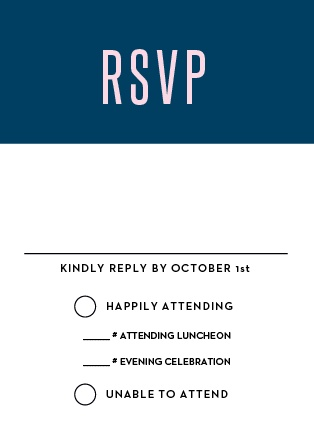 Traditions Bat Mitzvah RSVP Cards