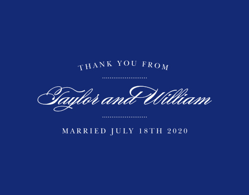 Expressing your gratitude is one of the most important aspects of a wedding. While it may not seem much, it will leave a lasting impression on your guests, so make sure you do it right with the Elegant Vintage Thank You Cards! Designed to match the similarly-named invitation suite, these cards can be customized to fit your theme.