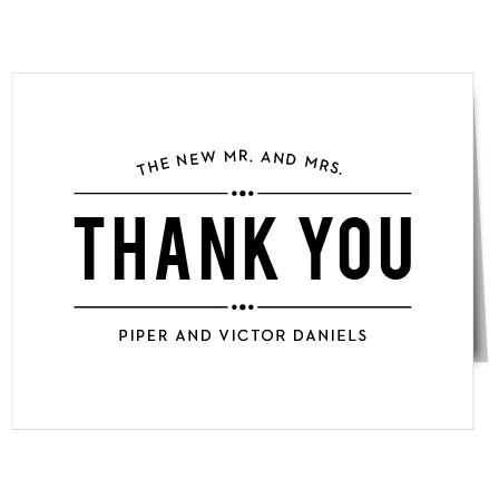 Thank you cards thank you notes match your color style free playbill thank you cards thecheapjerseys Image collections