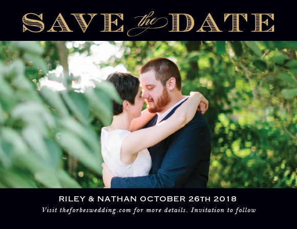 The Traditional Sophistication Foil Save The Date is a excellent way to share your information with your loved ones. With its bold border, the focal point is on your gorgeous picture and elegant font. Customize this card to show off your character!
