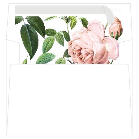 A7 Roses Envelope Liner