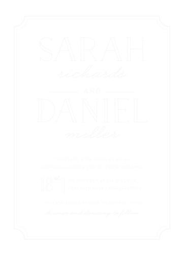 type frame wood wedding invitations - Wooden Wedding Invitations