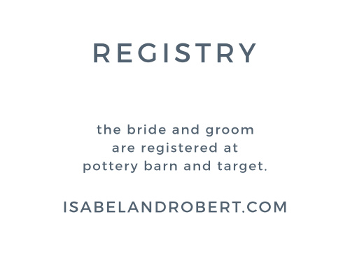 Be courteous to your guests and yourselves by helping organize your wedding registry with the Watercolor Bouquet Registry Cards.