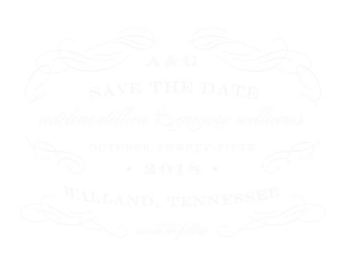 The Scrolled Frame Wood Save-the-Date Cards are the choice for any elegant occasion.