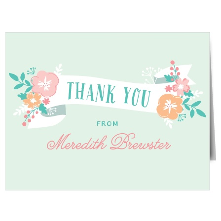 No shower is complete without a proper thank you, and there is no better way to show your gratitude than with the Hello Baby Shower Thank You Cards.