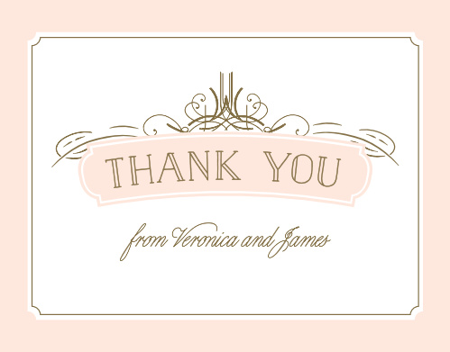 Share your gratitude with the Opulent Frames Thank You Cards, part of the Crafty Pie Collection at Basic Invite.