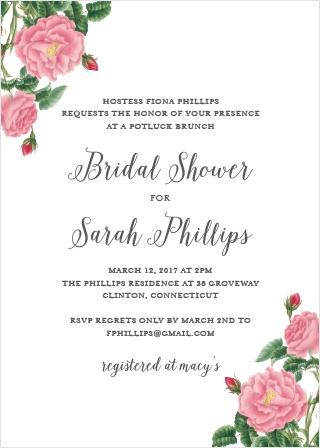 bridal shower invitations amp wedding shower invitations