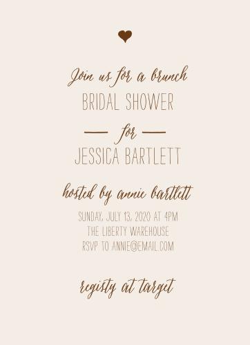 drawn together bridal shower invitations - Wedding Shower Invitation