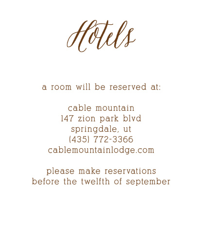 Guests will appreciate knowing about the best places to stay when you include the Rustic Wood Accommodation Cards into your wedding stationery.