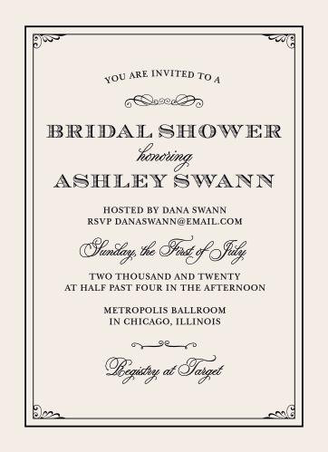 Bridal shower invitations wedding shower invitations basicinvite grand victorian bridal shower invitations filmwisefo