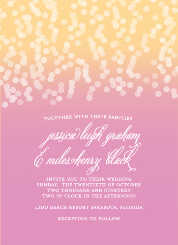 Wedding Invitations Without s