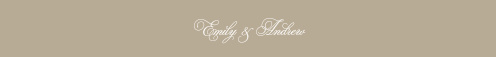 Polish your wedding stationery suite with Emily Swash Belly Bands from the Crafty Pie Collection at Basic Invite.