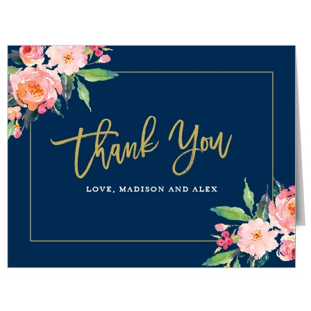 Standing Ovation Thank You Cards