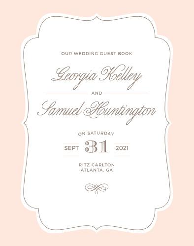 Vintage Frame Wedding Invitations by Basic Invite
