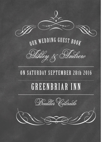 Wedding Guest Books | Instantly Preview Your Design - Basic Invite