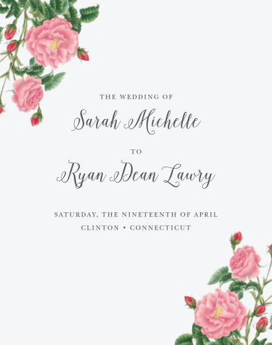 Cherish the memories of your perfect day with the Budding Blooms Guest Book from the Crafty Pie Collection at Basic Invite.