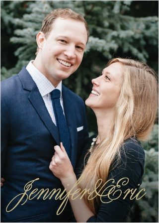 Even though marriage is an old and time-honored tradition, make your wedding stationery modern and current with the Modern Forever Wedding Invitation!
